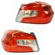 1ALTP01047-2015-17 Subaru WRX Tail Light Pair