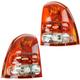 1ALTP01052-2004-07 Buick Rainier Tail Light Pair