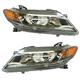 1ALHP01239-2013-15 Honda Accord Headlight Pair