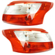 1ALTP01055-2012-14 Ford Focus Tail Light Pair