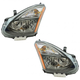 1ALHP01242-Nissan Rogue Headlight Pair
