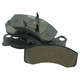 1ABPS02355-Ford Mustang Thunderbird Brake Pads
