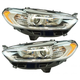 1ALHP01246-2013-16 Ford Fusion Headlight Pair