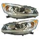 1ALHP01245-2016-17 Honda Accord Headlight Pair