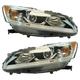 1ALHP01248-2016-17 Honda Accord Headlight Pair