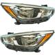 1ALHP01250-2015-16 Hyundai Accent Headlight Pair
