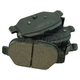 1ABPS02408-2012-16 Fiat 500 Brake Pads
