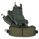 1ABPS02404-Infiniti QX56  QX80 Brake Pads