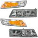 1ABGK00038-Ford Grille & Headlight Bezel Kit