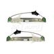 1AWRK00798-Chevy Equinox Pontiac Torrent Window Regulator Front Pair