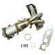 1AEEM00848-Scion xB Toyota Rav4 Exhaust Manifold with Catalytic Converter & Gasket Kit