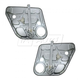 1AWRK00636-2007-08 Kia Rondo Window Regulator Rear Pair
