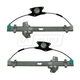 1AWRK00642-2006-11 Window Regulator Front Pair