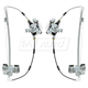 1AWRK00675-Dodge Dakota Ram Dakota Window Regulator Rear Pair
