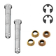 1ADMX00147-Ford Taurus Mercury Sable Door Hinge Pin & Bushing Kit (4 Pins  2 Bushings  & 2 Clips)