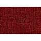 ZAICF00357-1989-91 Chevy Suburban R1500 Passenger Area Carpet 4305-Oxblood