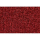 ZAICF00341-1981-86 Chevy Suburban C20 Passenger Area Carpet 7039-Dark Red/Carmine