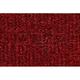 ZAMAF00253-Ford Mustang Mercury Capri Floor Mat 4305-Oxblood  Auto Custom Carpets 19503-160-1052000000