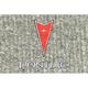 ZAMAF00226-1974-81 Pontiac Firebird Floor Mat 852-Silver