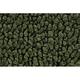 ZAMAF00141-1967-69 Chevy Camaro Floor Mat 30-Dark Olive Green