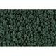 ZAMAF00140-1967-69 Chevy Camaro Floor Mat 08-Dark Green  Auto Custom Carpets 10293-203-1226000000