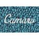ZAMAF00152-1967-69 Chevy Camaro Floor Mat 09-Medium Blue  Auto Custom Carpets 10293-203-1227173100