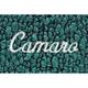 ZAMAF00150-1967-69 Chevy Camaro Floor Mat 05-Aqua  Auto Custom Carpets 10293-203-1223173100