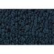 ZAMAF00109-1964-68 Ford Mustang Floor Mat 07-Dark Blue  Auto Custom Carpets 19503-203-1225000000