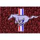 ZAMAF00128-1964-68 Ford Mustang Floor Mat 13-Maroon  Auto Custom Carpets 19503-203-1231114000