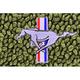 ZAMAF00125-1964-68 Ford Mustang Floor Mat 14-Moss Green  Auto Custom Carpets 19503-203-1232114000