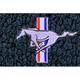 ZAMAF00124-1964-68 Ford Mustang Floor Mat 07-Dark Blue  Auto Custom Carpets 19503-203-1225114000