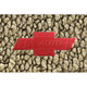 ZAMAF00174-1968-72 Chevy Chevelle Malibu Floor Mat 19-Fawn Sandalwood