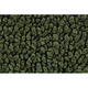 ZAMAF00186-1967-72 Chevy Floor Mat 30-Dark Olive Green  Auto Custom Carpets 14358-203-1244000000