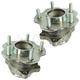 1ASHS01117-Nissan Juke Leaf Wheel Bearing & Hub Assembly Pair