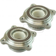 1ASHS01130-2008-16 Toyota Sequoia Wheel Hub Bearing Module Pair
