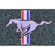 ZAMAF00277-1979-93 Ford Mustang Floor Mat 8082-Crystal Blue  Auto Custom Carpets 8886-160-1096114000