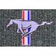 ZAMAF00275-1979-93 Ford Mustang Floor Mat 9229-Steel Blue/Crystal Blue