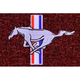 ZAMAF00287-1979-93 Ford Mustang Floor Mat 825-Maroon  Auto Custom Carpets 8886-160-1106114000