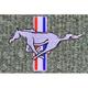 ZAMAF00284-1979-93 Ford Mustang Floor Mat 857-Medium Gray  Auto Custom Carpets 8886-160-1123114000