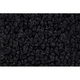 ZAICF00376-1968 American Motors AMX Passenger Area Carpet 01-Black