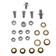 1ADMX00134-Door Hinge Pin & Bushing Kit (Pins  Bushings  Washers  Knurl Nut  Lock Nuts  & Bolt) Front