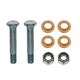 1ADMX00135-Door Hinge Pin & Bushing Kit (2 Pins  4 Bushings  & 2 Lock Nuts) Front  Dorman 38462