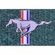 ZAMAF00290-1979-93 Ford Mustang Floor Mat 7766-Blue