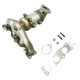 1AEEM00850-Hyundai Santa Fe Kia Sorento Exhaust Manifold with Catalytic Converter & Gasket Kit