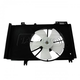 1ARFA00515-2011-14 Mazda 2 Radiator Dual Cooling Fan Assembly