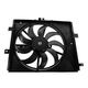 1ARFA00519-2012-17 Nissan Versa Radiator Cooling Fan Assembly