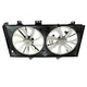 1ARFA00506-2012-17 Toyota Camry Radiator Dual Cooling Fan Assembly