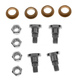 1ADMX00137-Door Hinge Pin & Bushing Kit (4 Pins  4 Bushings  & 4 Lock Nuts)