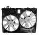 1ARFA00522-2007-10 Toyota Sienna Radiator Dual Cooling Fan Assembly