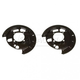 1ABMK00011-Brake Backing Plate for Models with Rear Disc Brakes Rear Pair